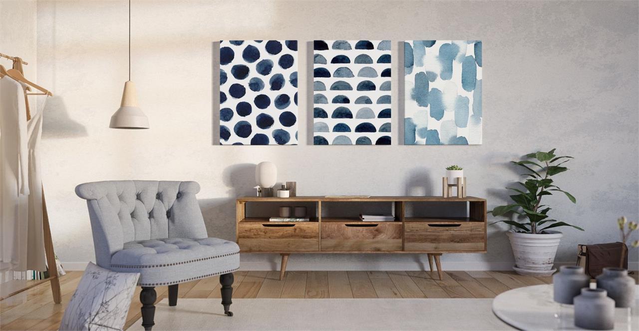 The Wabi Sabi Triptych Set of 3 Medium