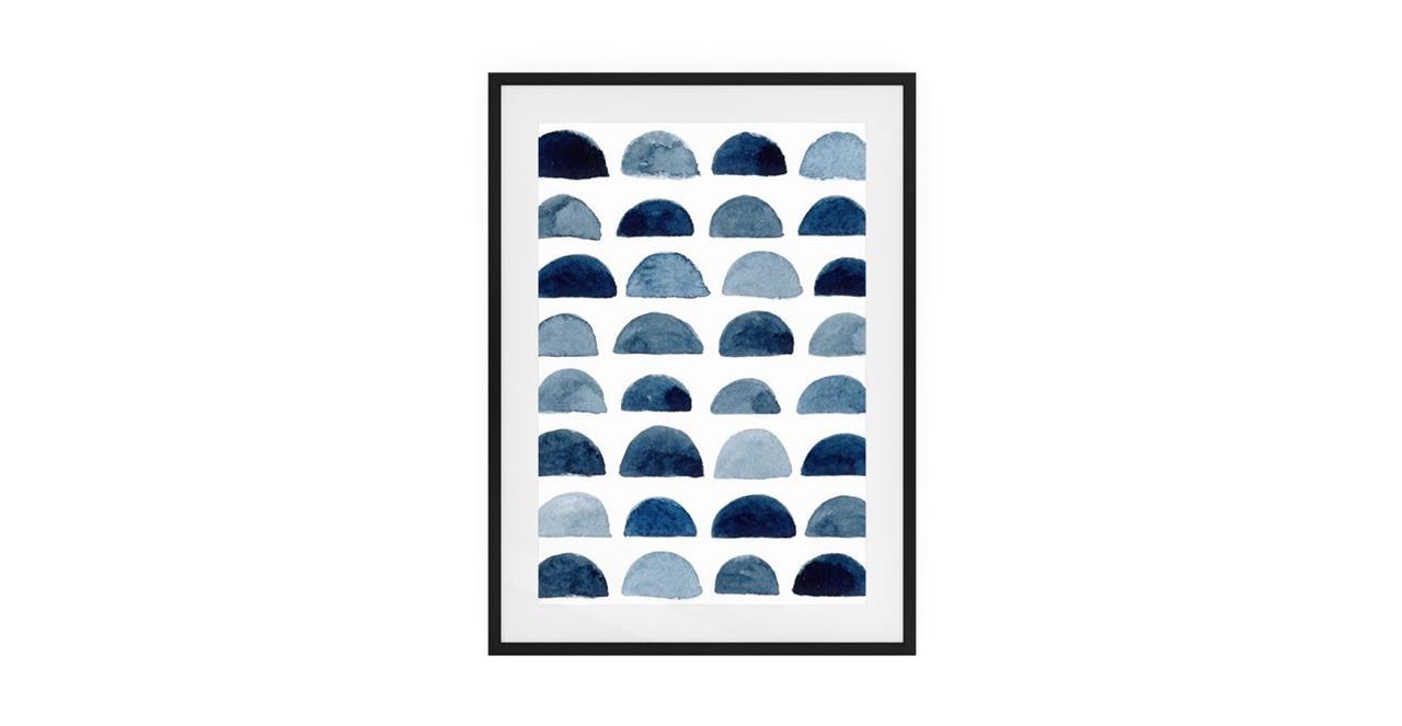 The Wabi Sabi Print Black Wood Frame Medium Incomplete