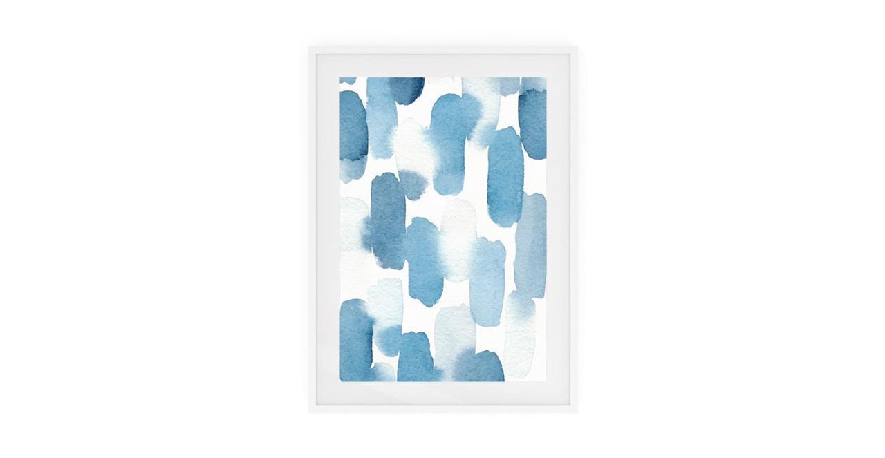 The Wabi Sabi Print White Wood Frame Medium Imperfect