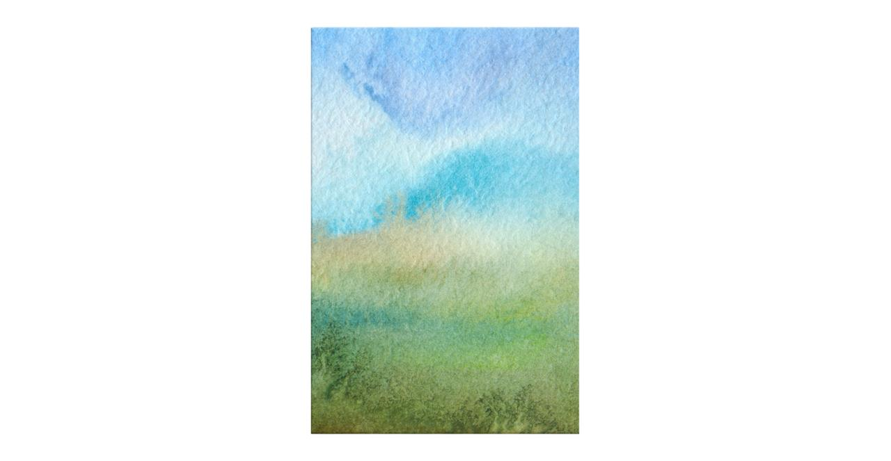 The Watercolour Print Canvas Small