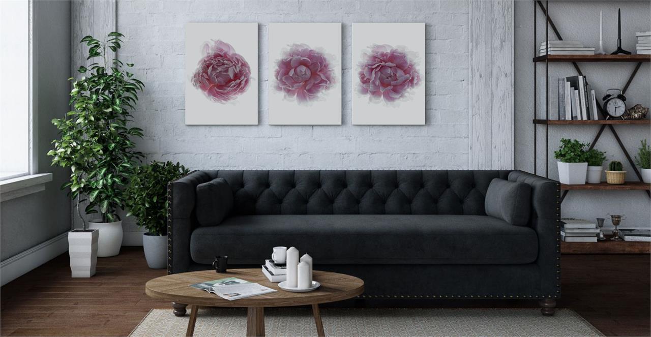 The Blossom Triptych Set of 3 Medium