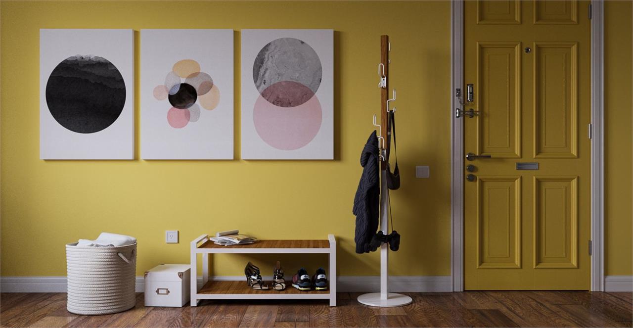 The Circles Triptych Set of 3 Medium