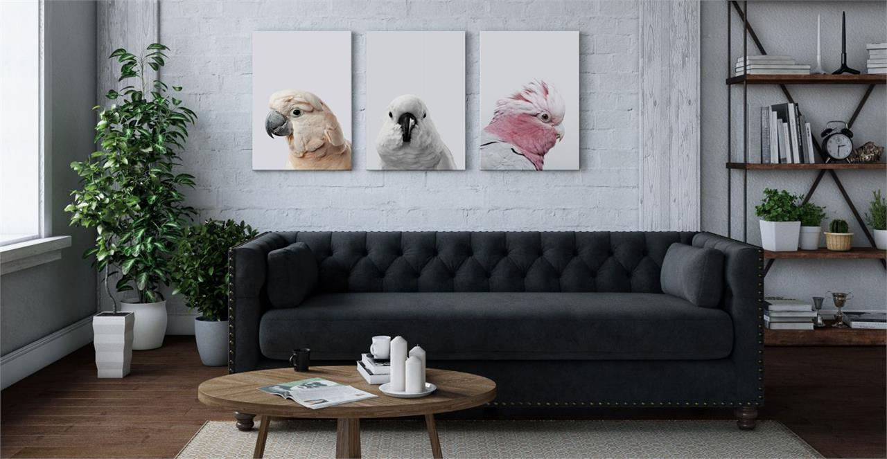 The Flock Triptych Set of 3 Medium