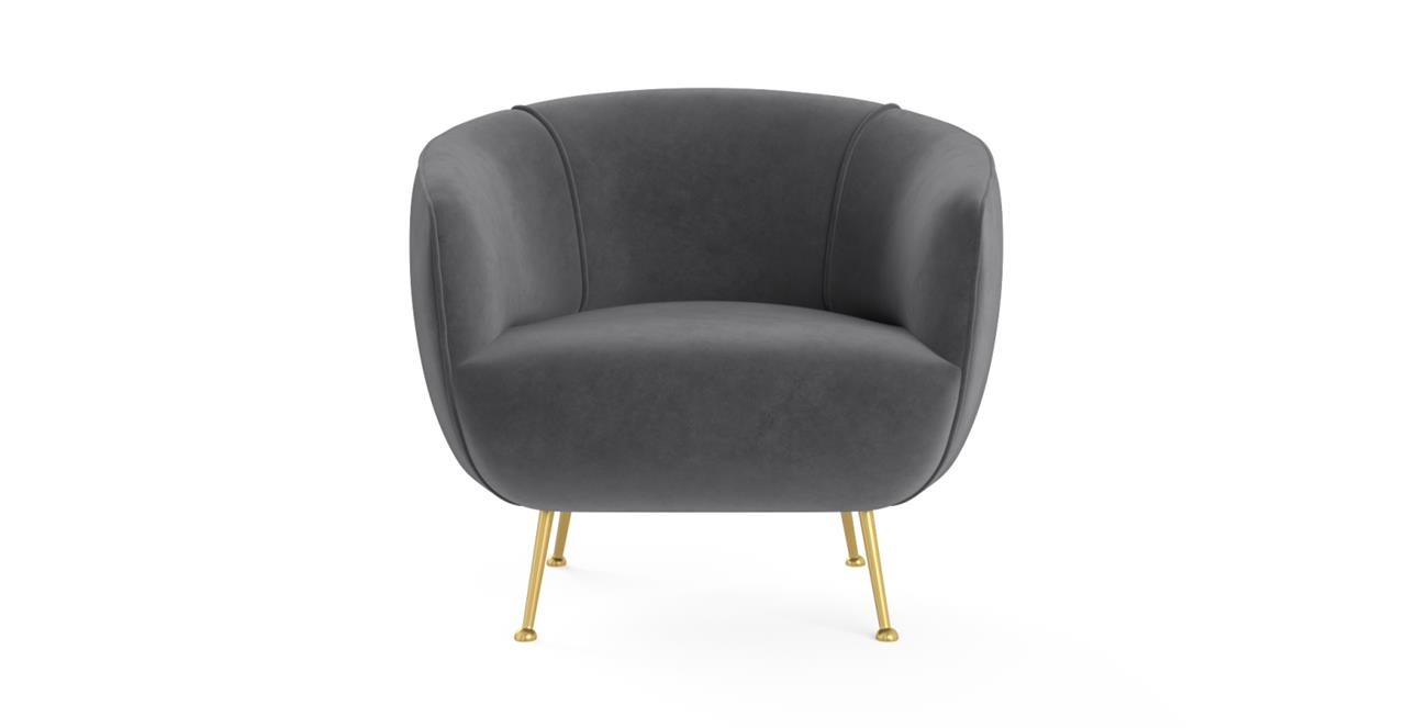 Elodie Accent Chair Cosmic Anthracite