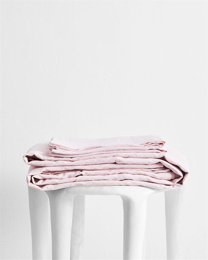 Rosewater 100% Flax Linen Sheet Set - Bed Threads