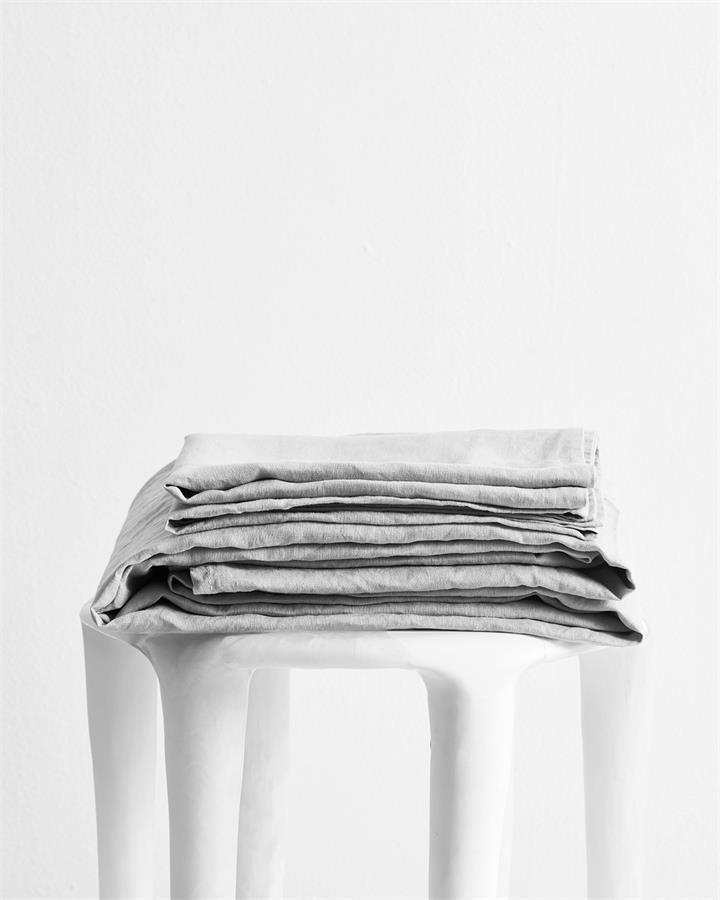 Fog 100% Flax Linen Sheet Set - Bed Threads