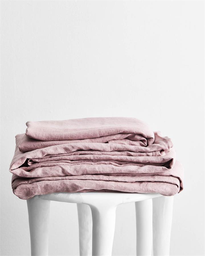 Lavender 100% Flax Linen Sheet Set - Bed Threads