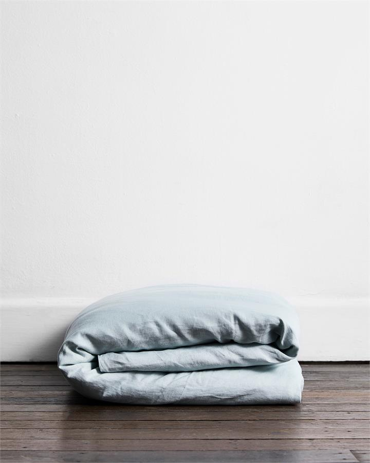 Drift 100% Flax Linen Duvet Cover - Bed Threads