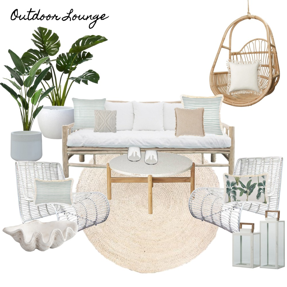 Outdoor Lounge Interior Design Mood Board by kaylapaige on Style Sourcebook