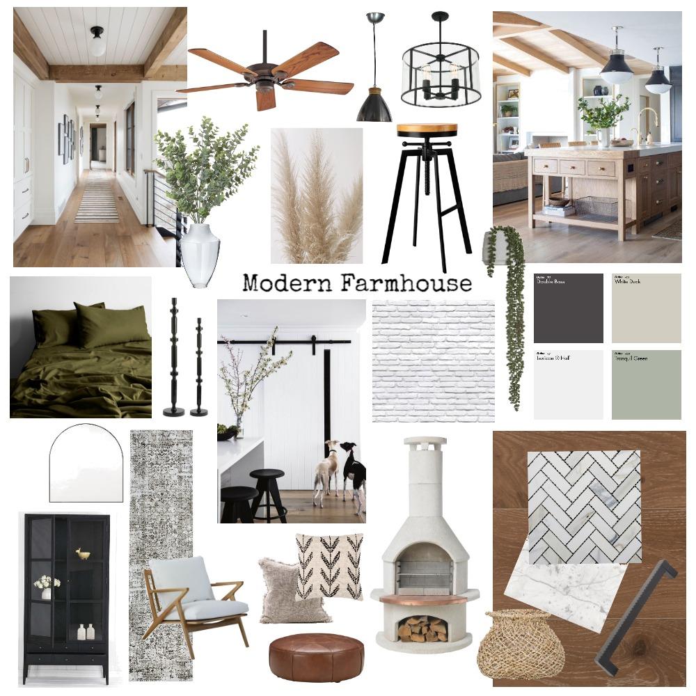 Modern Farmhouse Interior Design Mood Board by jaydagrace on Style Sourcebook