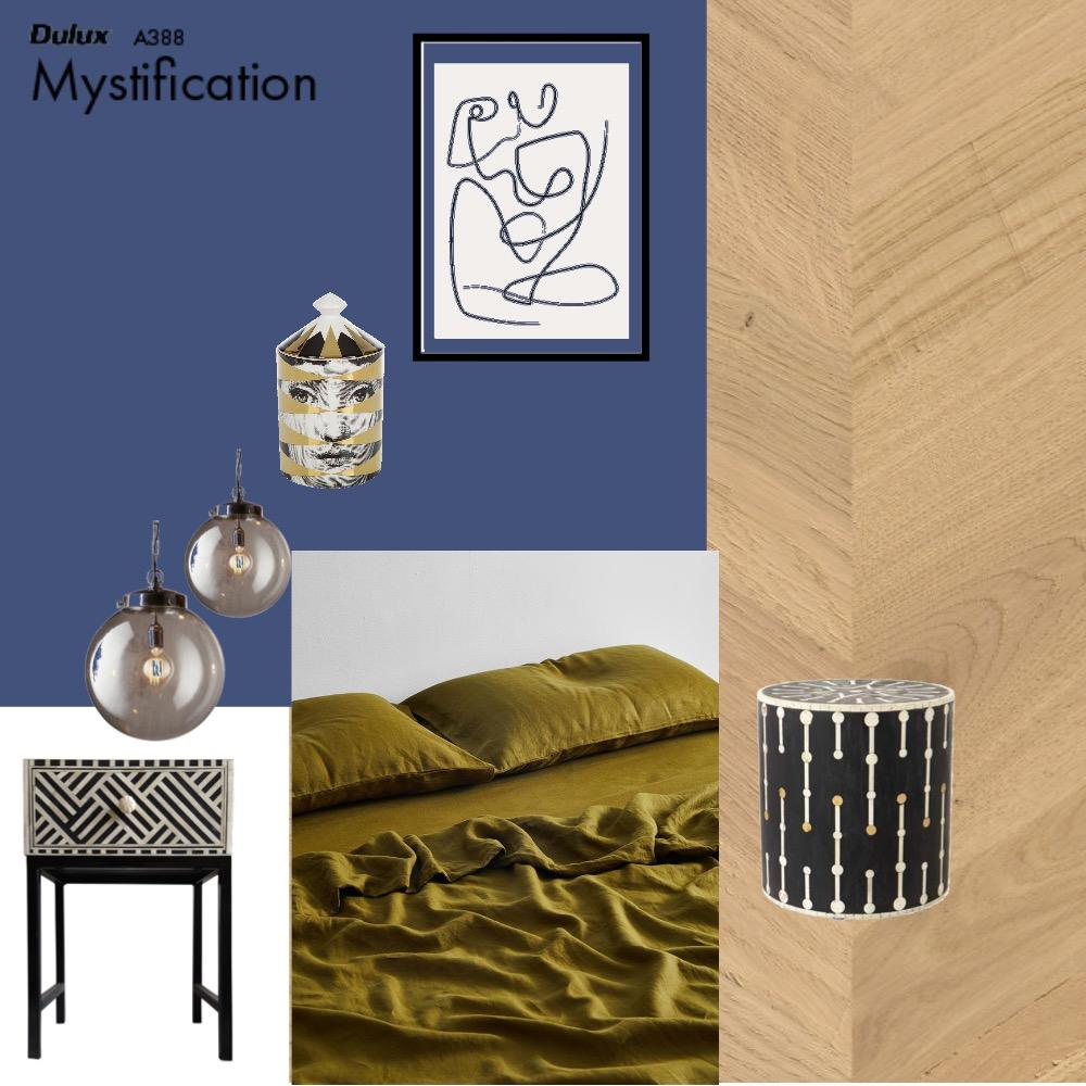 bedroom Interior Design Mood Board by Vanessa PAVY on Style Sourcebook