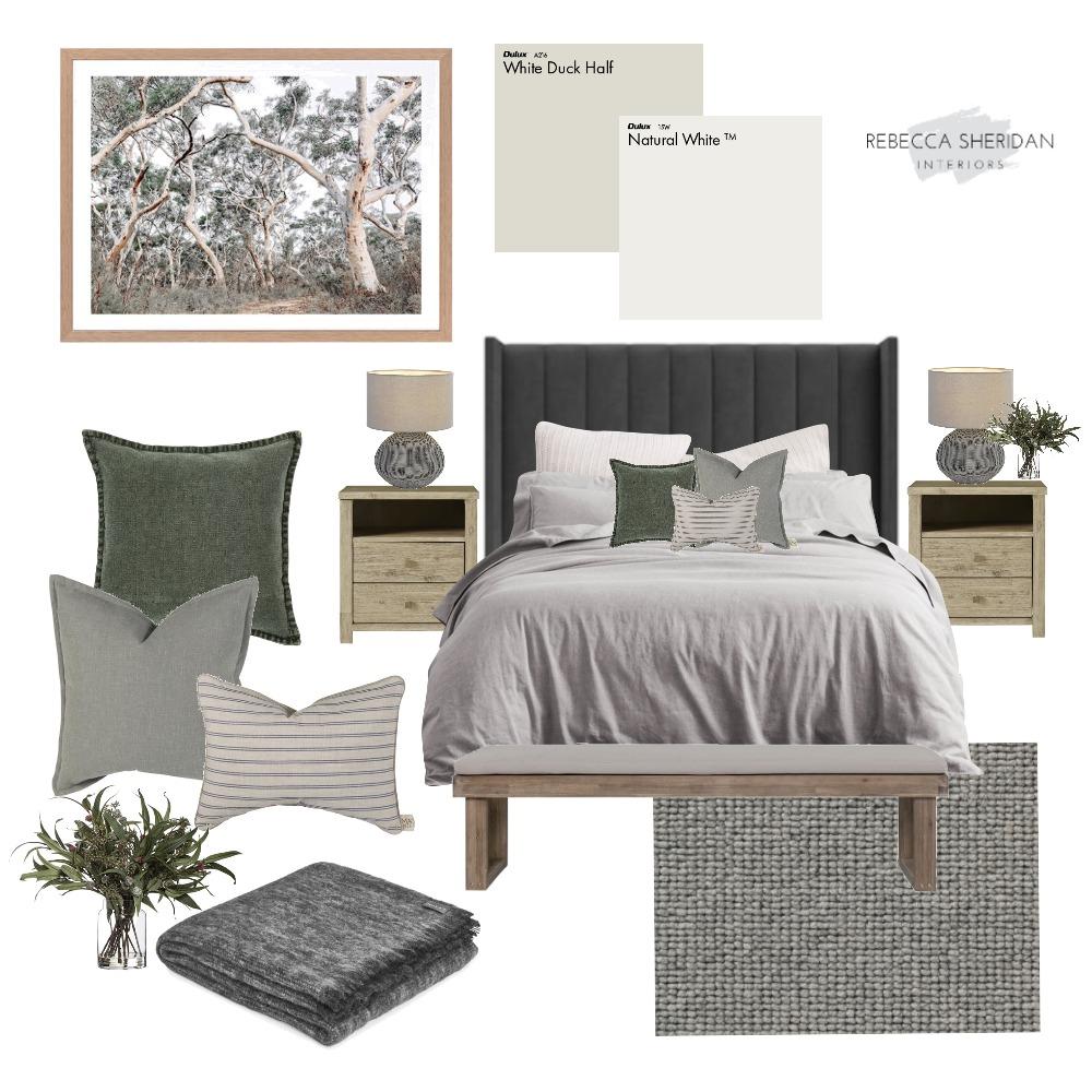 Guest Bedroom Modern Australian Interior Design Mood Board by Rebecca Sheridan Interiors on Style Sourcebook