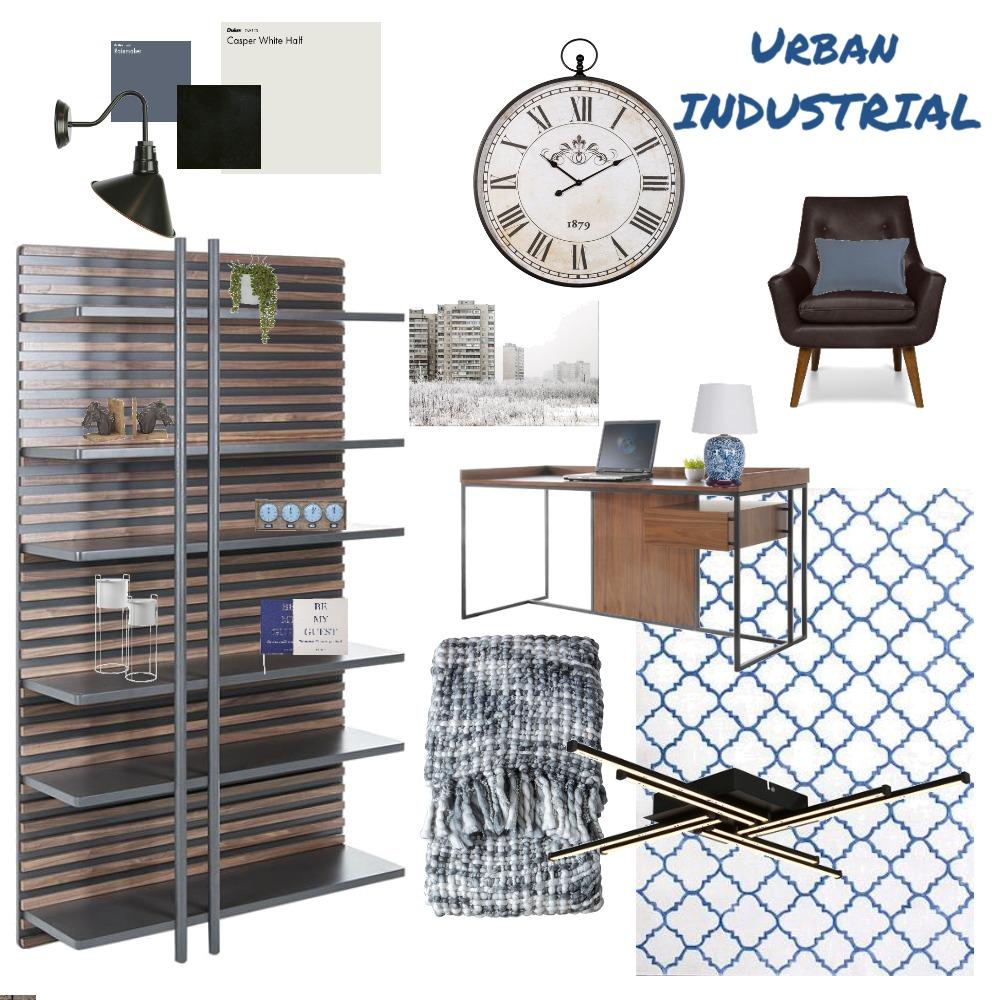 Urban Industrial Interior Design Mood Board by Jeannette vanLagen on Style Sourcebook