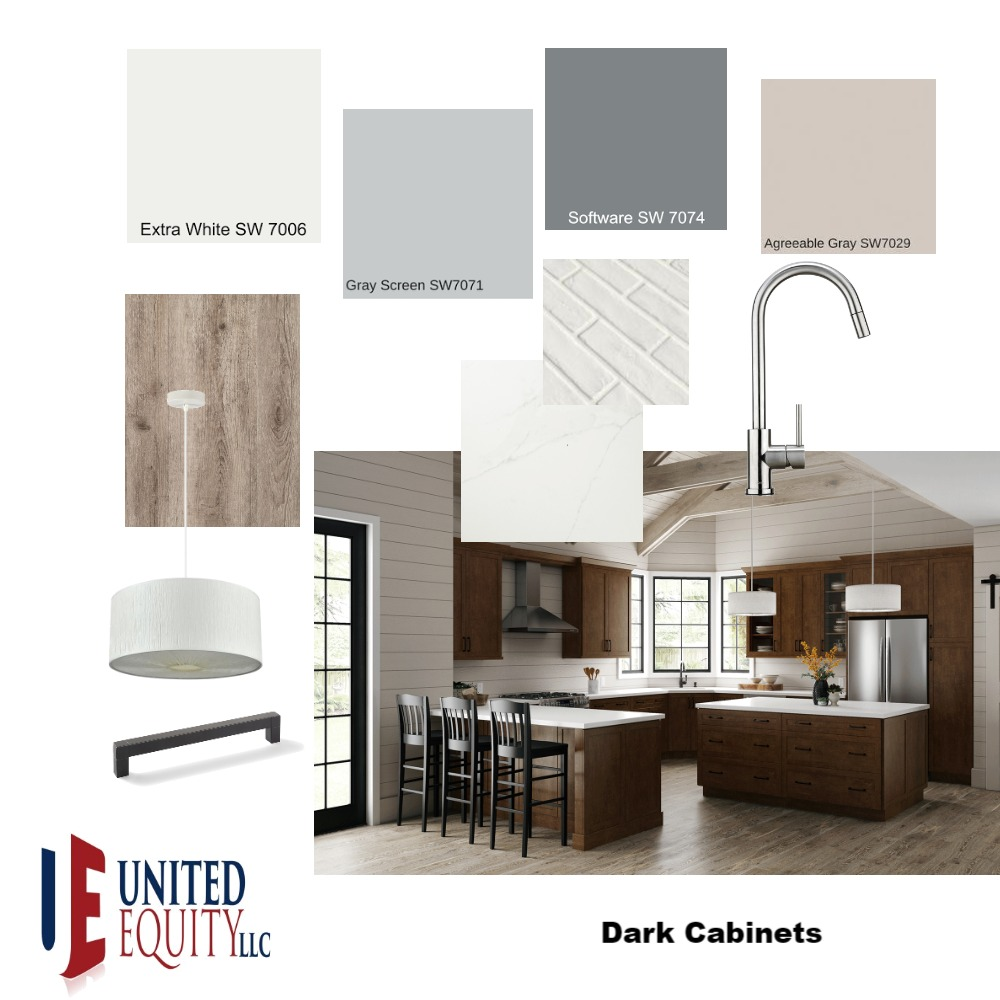 Dark Cabinets Interior Design Mood Board by United on Style Sourcebook