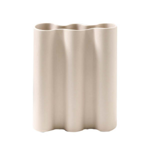 WAVE VASE 20X25CM in natural by OzDesignFurniture, a Vases & Jars for sale on Style Sourcebook