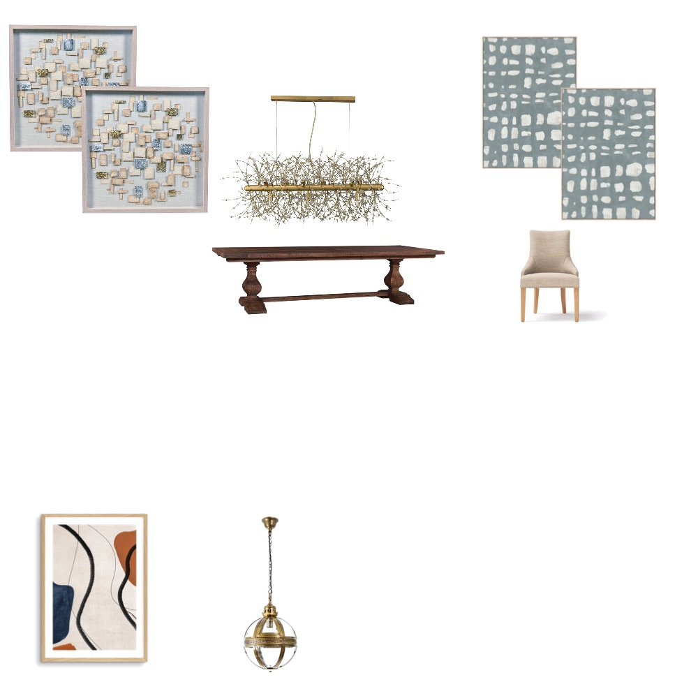 Dining mediterranean style Interior Design Mood Board by CamiK on Style Sourcebook