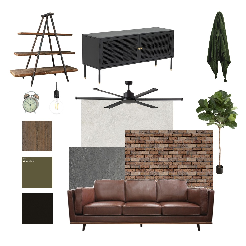 industrial style Interior Design Mood Board by Vilteja on Style Sourcebook