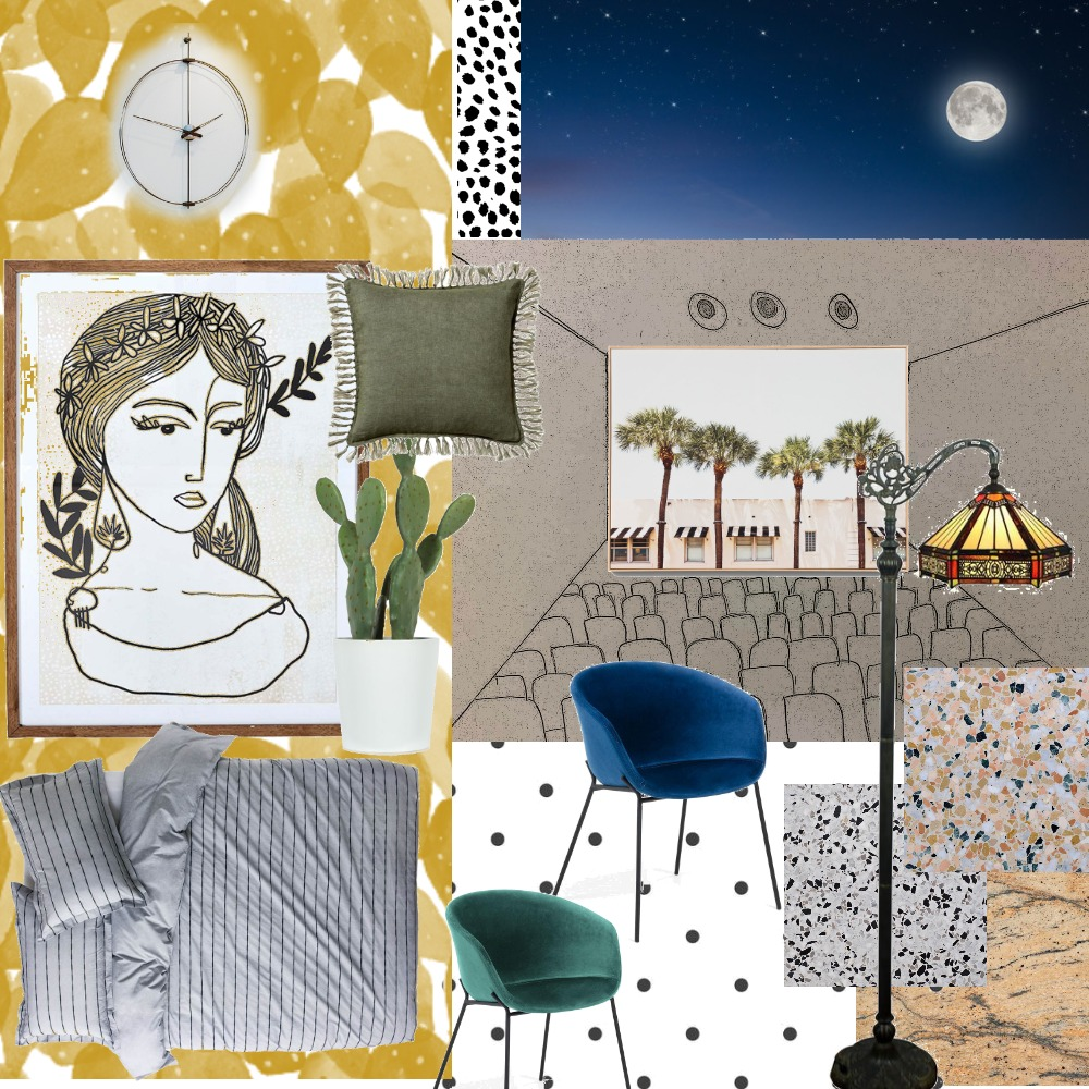 collage Interior Design Mood Board by almogziporib on Style Sourcebook