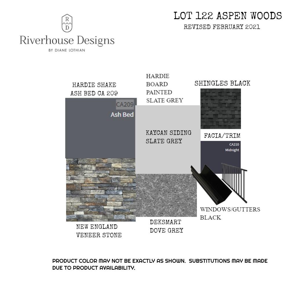 LOT 122 ASPEN WOODS Mood Board by riverhousedesigns on Style Sourcebook