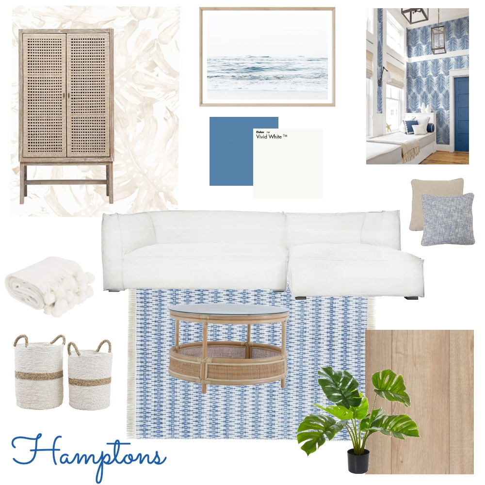 Hamptons Interior Design Mood Board by leahturley24 on Style Sourcebook