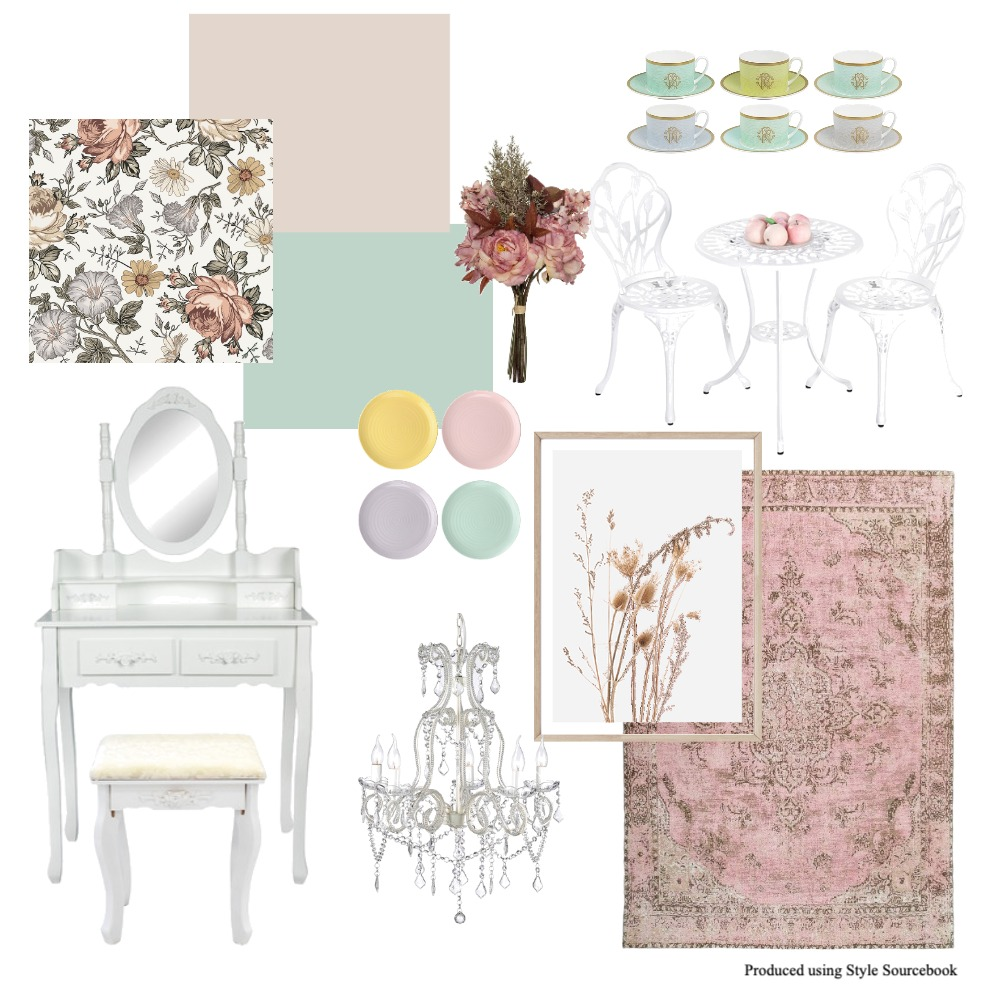 shabby chic Interior Design Mood Board by Vilteja on Style Sourcebook