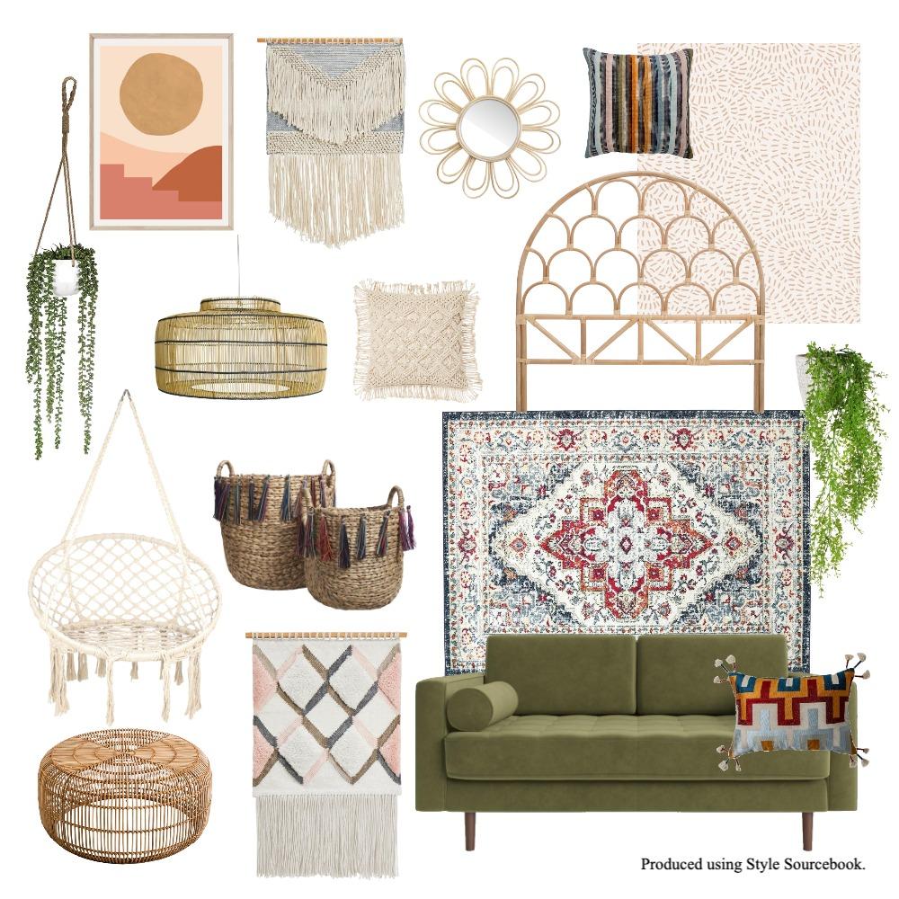 bohemian interior Interior Design Mood Board by Vilteja on Style Sourcebook