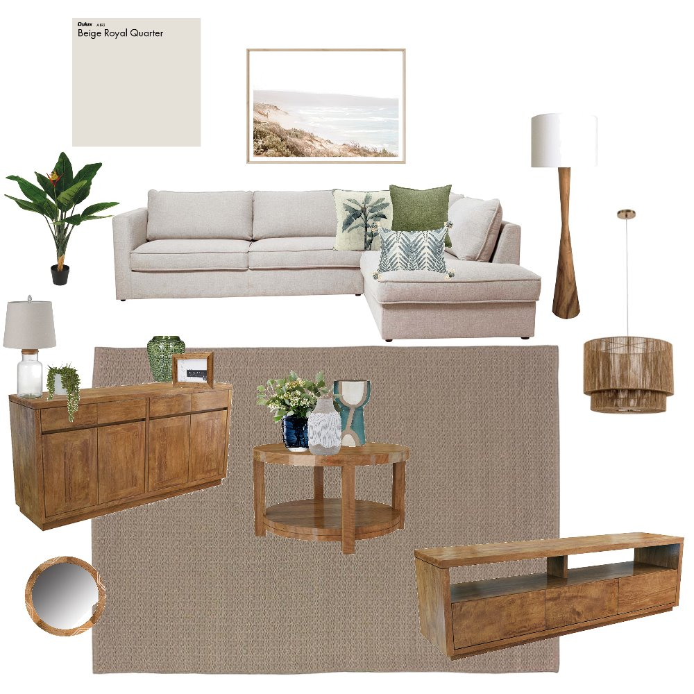 Timber Coastal Interior Design Mood Board by cass111777 on Style Sourcebook
