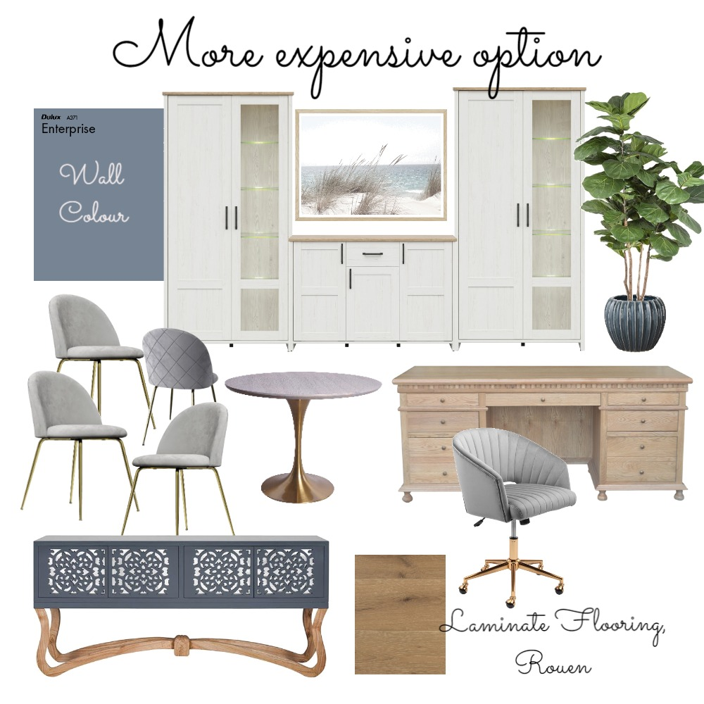 Deb's office more expensive version Interior Design Mood Board by DesignbyFussy on Style Sourcebook