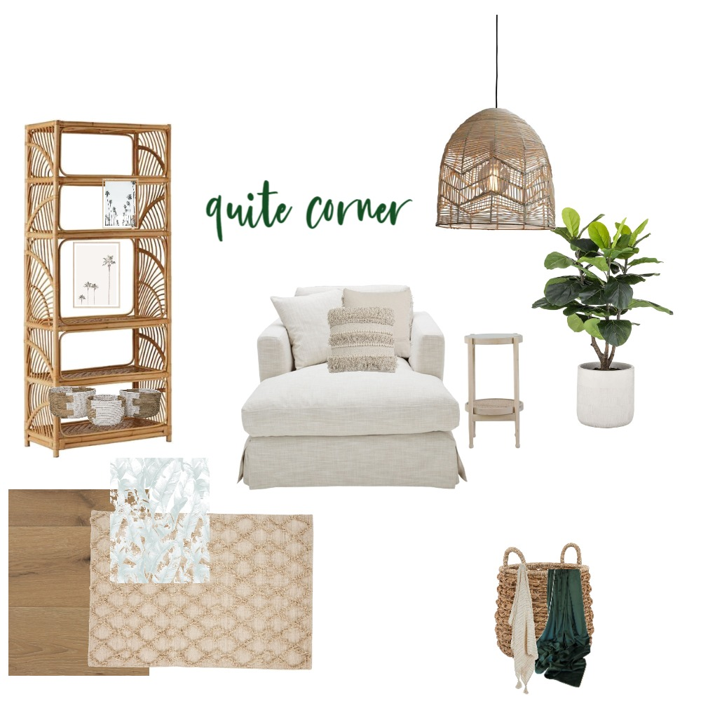 quite corner Interior Design Mood Board by DSPACE on Style Sourcebook