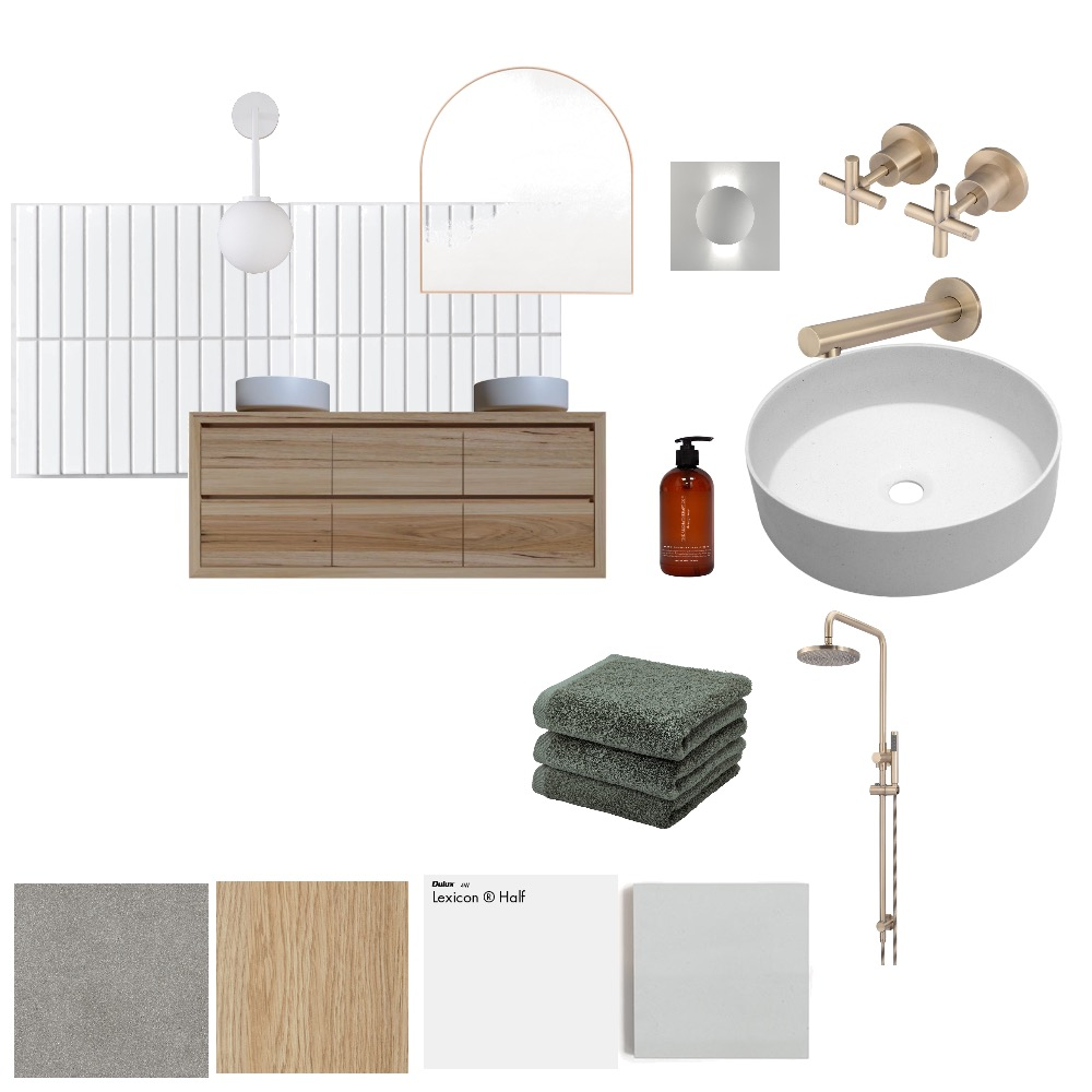 Ensuite Interior Design Mood Board by mcjodes on Style Sourcebook
