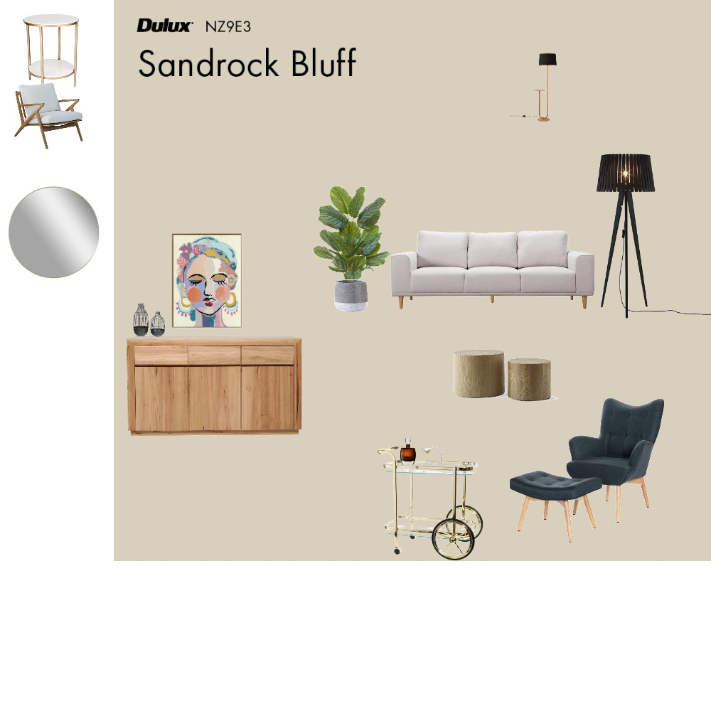 Living Interior Design Mood Board by Joaninhac on Style Sourcebook