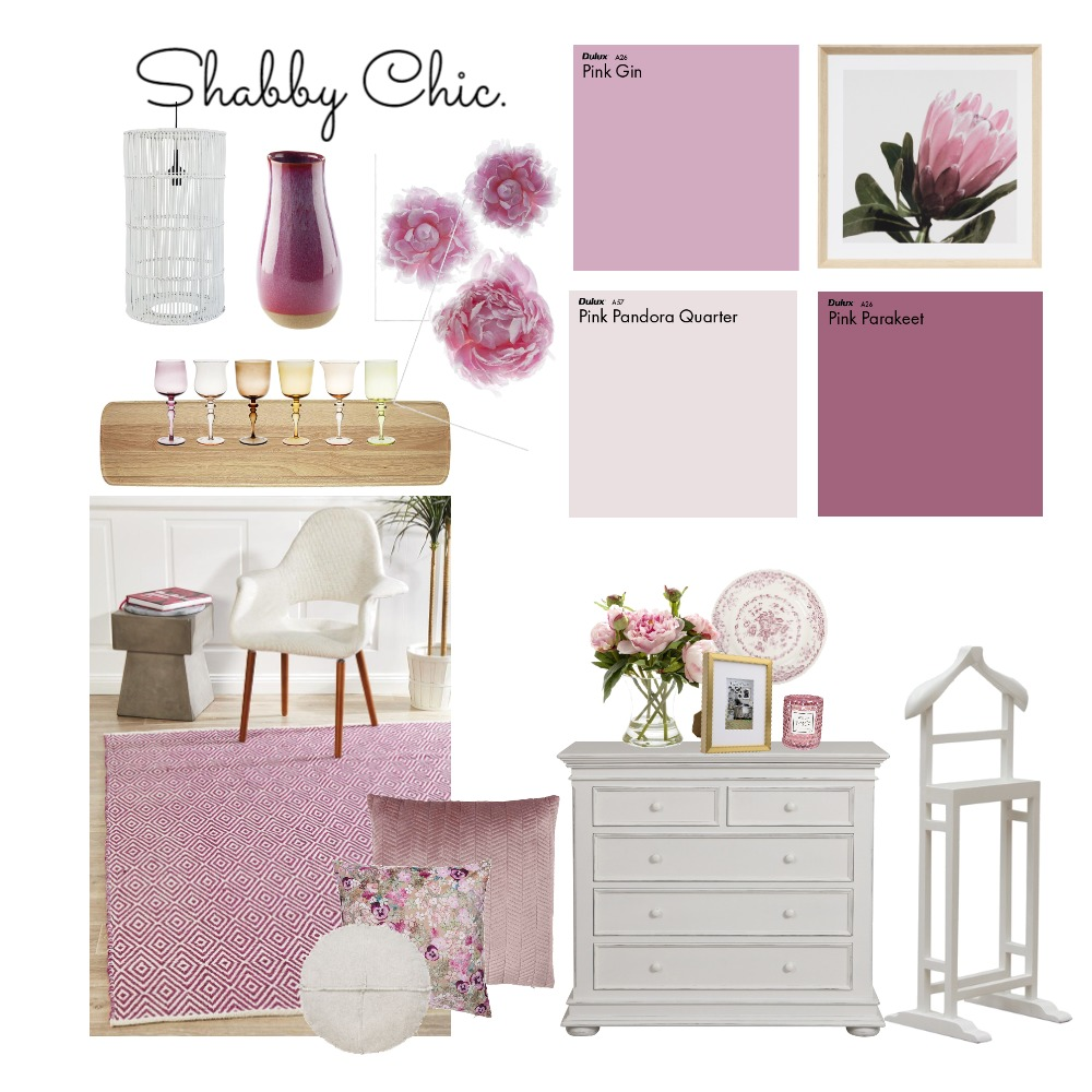 Shabby Chic Interior Design Mood Board by shaylee.powles on Style Sourcebook