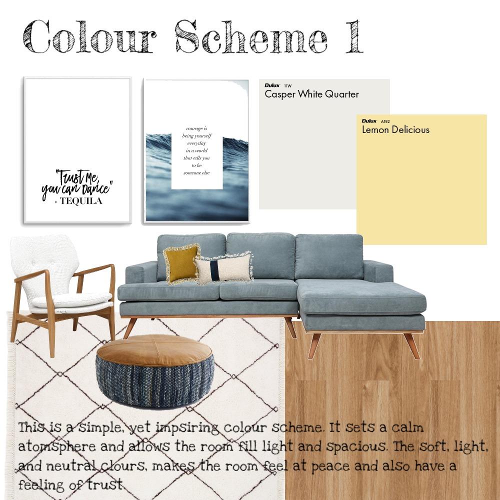 Colour Scheme 1 Interior Design Mood Board by Paris on Style Sourcebook