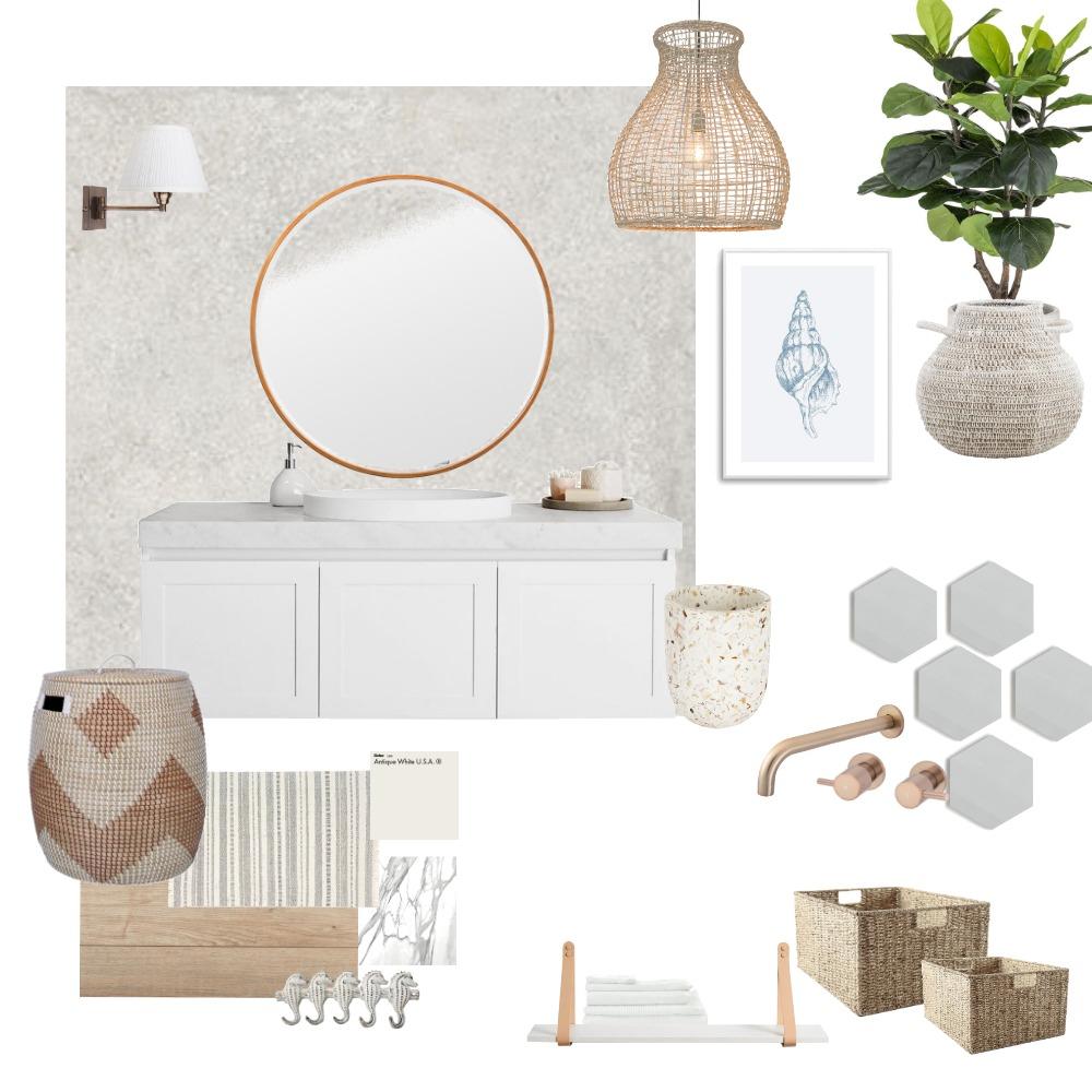 Coastal Bathroom Interior Design Mood Board by Eliana Filippa on Style Sourcebook