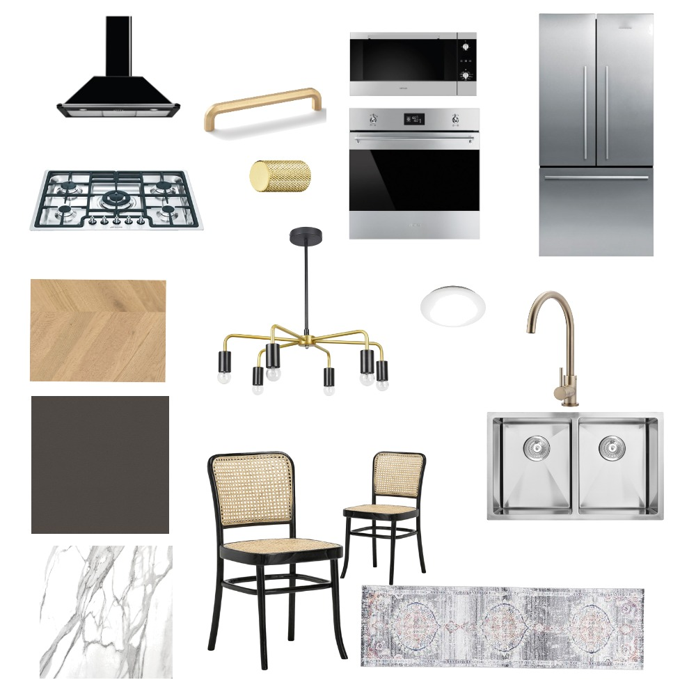 grey Cabinets Kitchen Interior Design Mood Board by Farahtauseef on Style Sourcebook