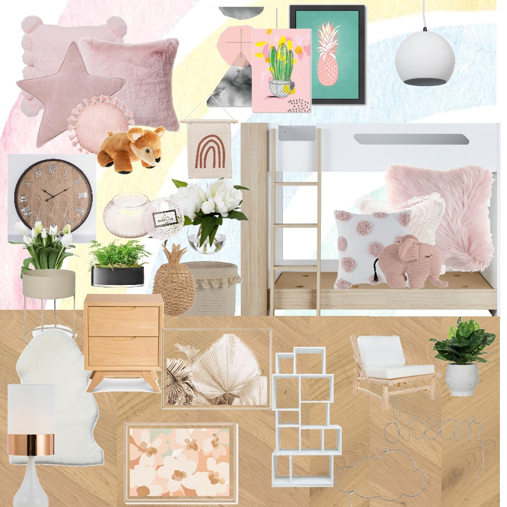Zalis Dream bedroom Interior Design Mood Board by The Property Stylists & Co on Style Sourcebook