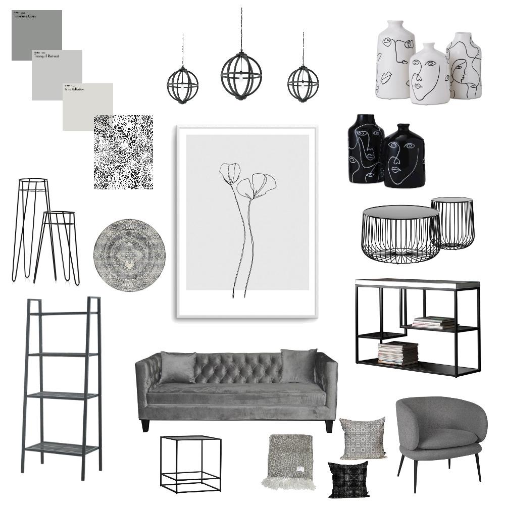 Grey Mood Board Interior Design Mood Board by juliaexley on Style Sourcebook