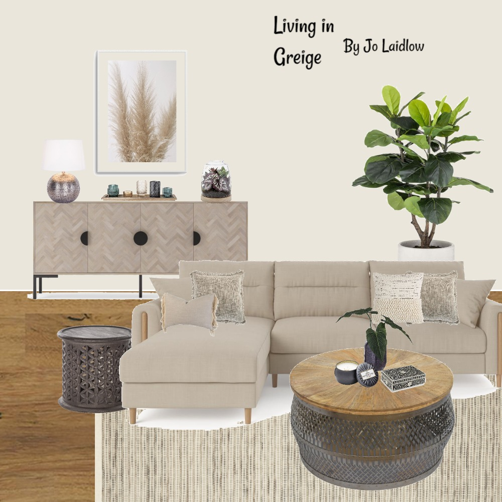 Living in Greige By Jo Laidlow Interior Design Mood Board by Jo Laidlow on Style Sourcebook