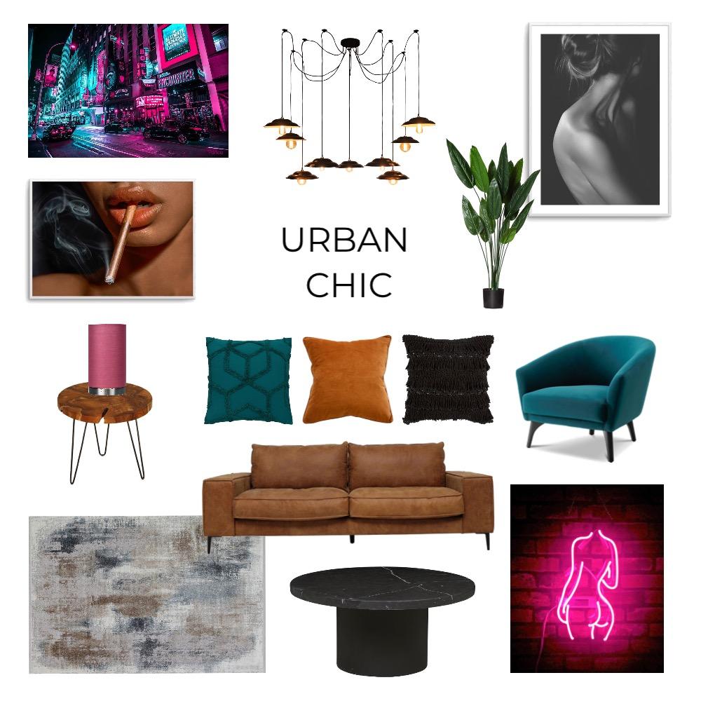 Urban Chic - Mod 3 Interior Design Mood Board by Courtneybanham on Style Sourcebook