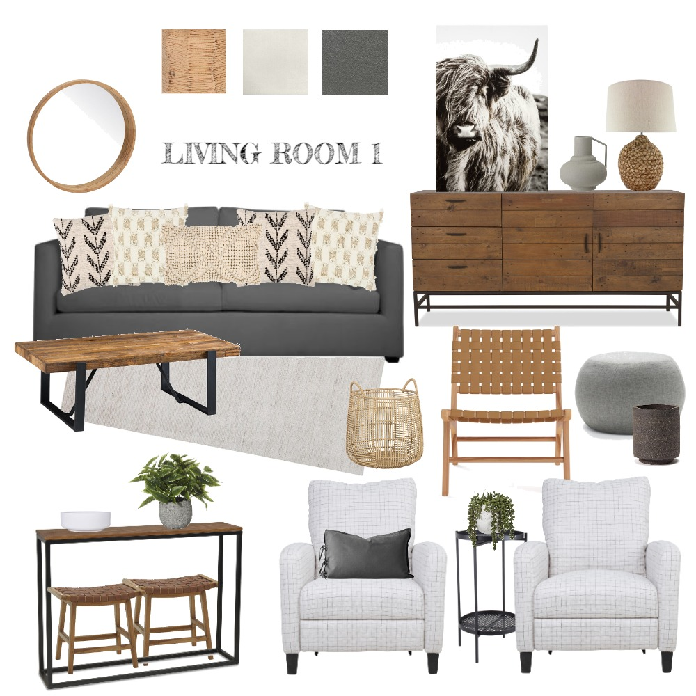 Sharon Penner LIVING ROOM 1 Interior Design Mood Board by rooms by robyn on Style Sourcebook