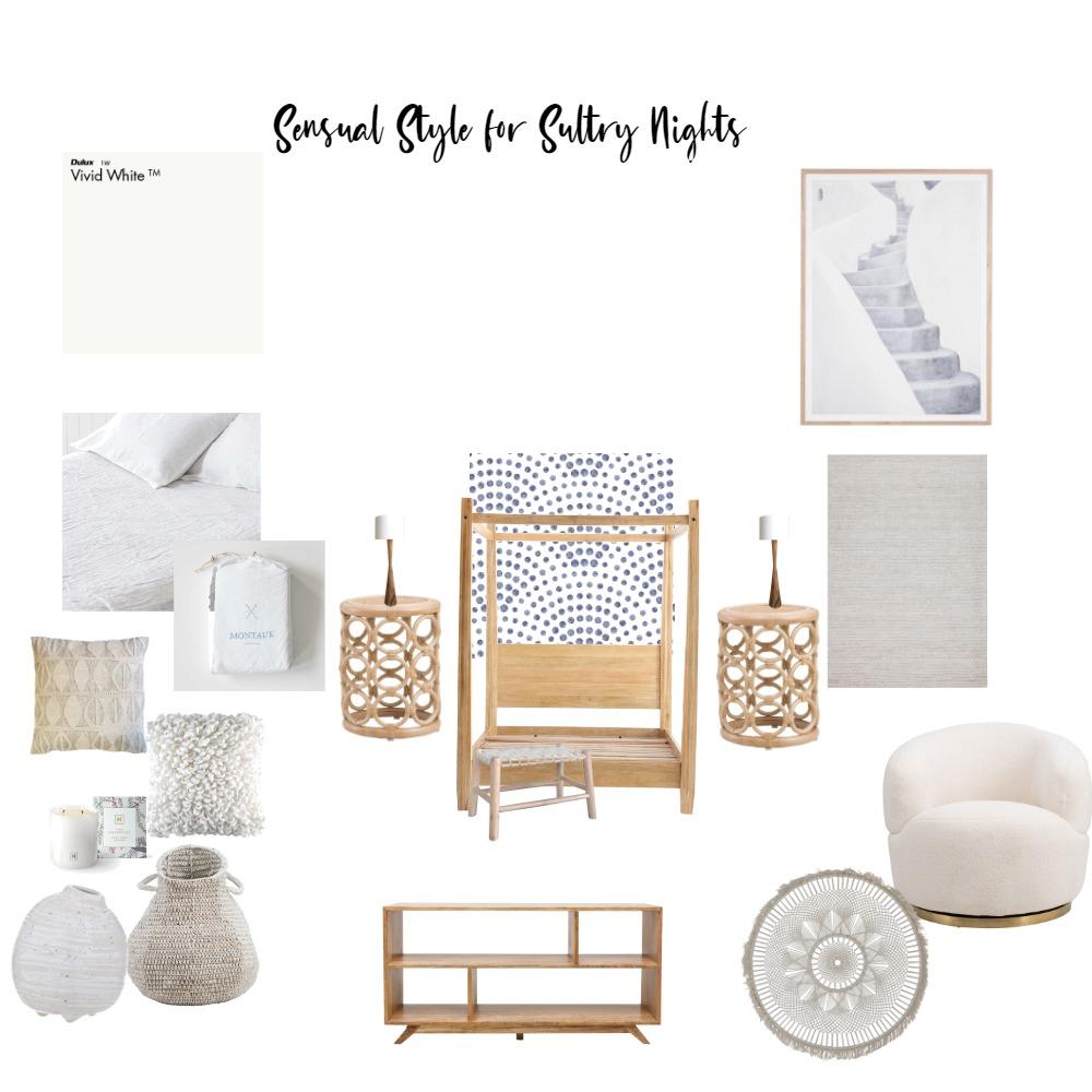 Sultry Sensual Summer Nights Interior Design Mood Board by Oz Design Macgregor Store on Style Sourcebook