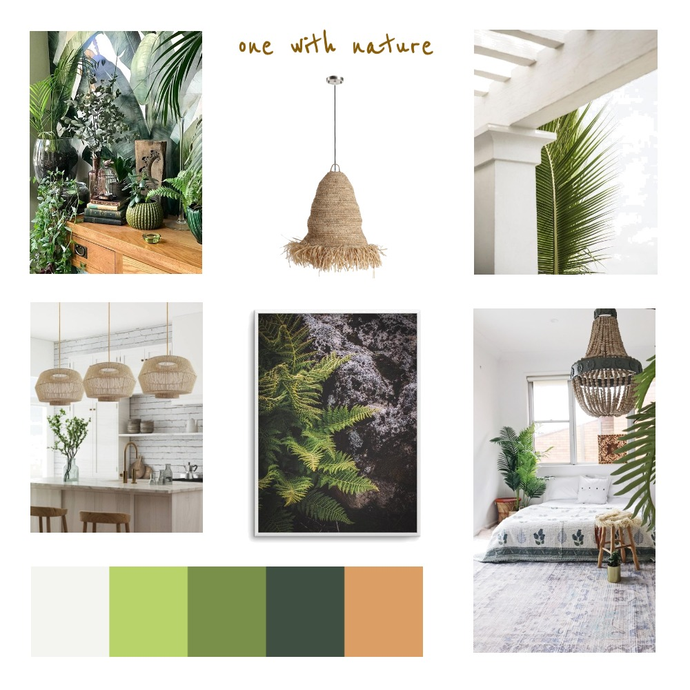 One with Nature Interior Design Mood Board by marialockard on Style Sourcebook