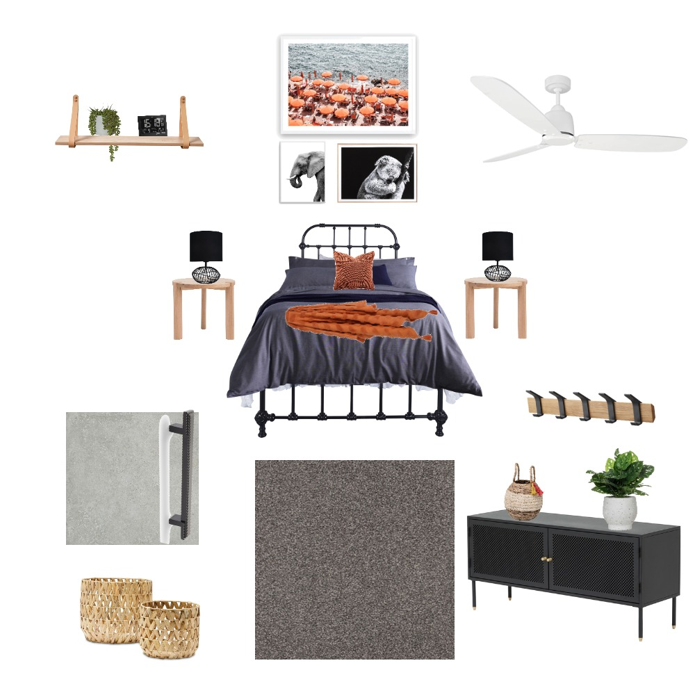 Bedroom 4 Interior Design Mood Board by swoelfle on Style Sourcebook