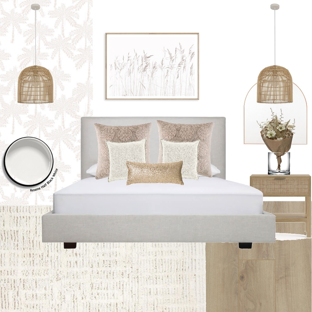 Scandi Bedroom Interior Design Mood Board by anitra on Style Sourcebook