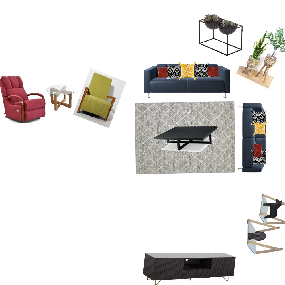 סלון נאוה Interior Design Mood Board by rozi on Style Sourcebook