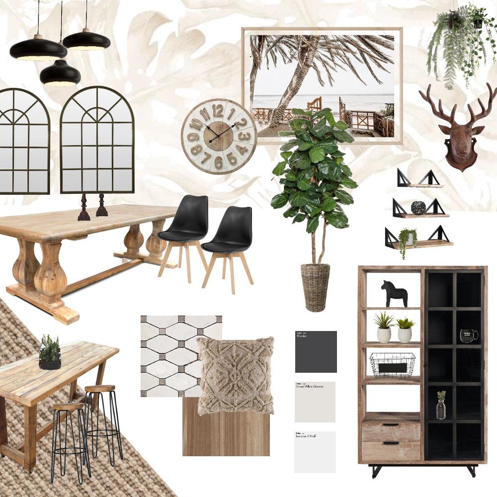 Modern Farmhouse Interior Design Mood Board by Merrya Johnson Design on Style Sourcebook