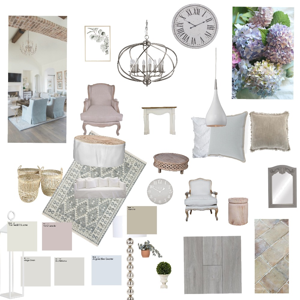 French country cottage Interior Design Mood Board by cheryl346123 on Style Sourcebook