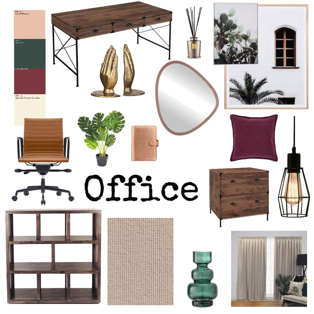 office Interior Design Mood Board by AmandaKowal on Style Sourcebook