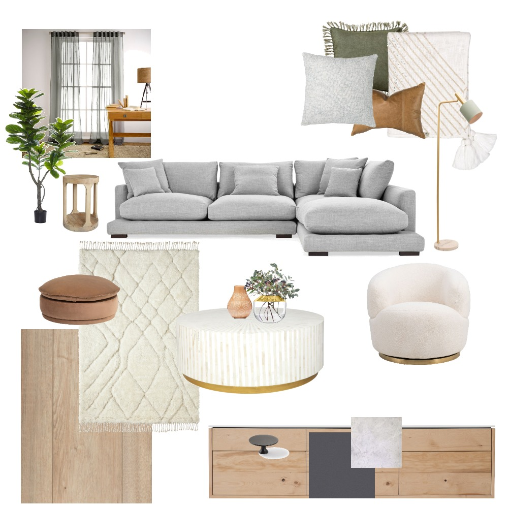 main living room Interior Design Mood Board by sarahR on Style Sourcebook