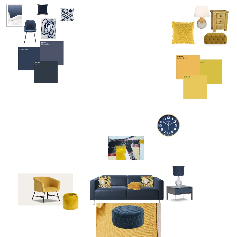 complementary colors Interior Design Mood Board by Jaidentaiste on Style Sourcebook